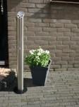 staande asbak 'Rookzuil' Design-asbak.nl