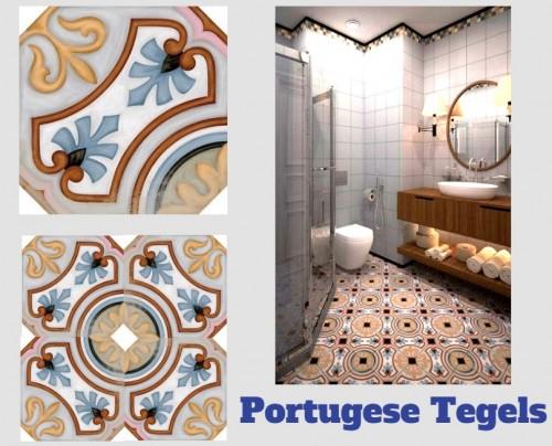Keuken Tegels Portugese : Portugese tegelstickers tegels vloertegels vloermatten