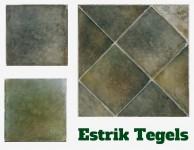 Estrik Groen Vlagsma tegels